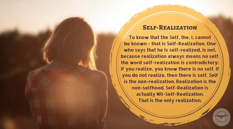 God-Realization Or Self-Realization