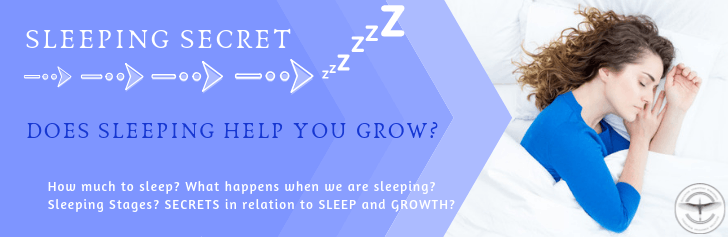 does sleeping help you grow