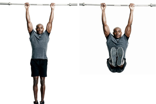 hanging workout to increase height