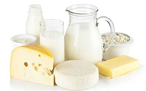 dairy products to grow taller