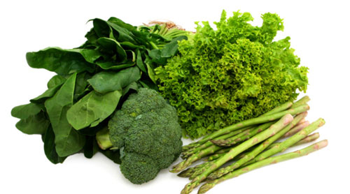 green leafy vegetables to increase height