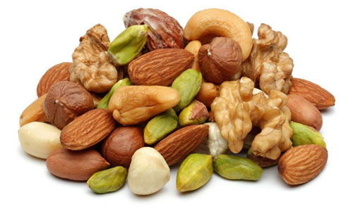 nuts to increase height