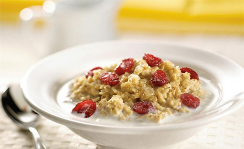 oatmeal promotes healthy growth