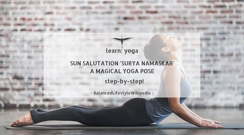yoga - sun salutation to grow taller