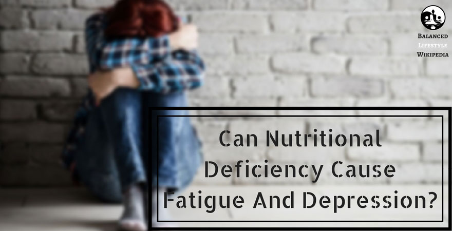 nutritional deficiency causes depression