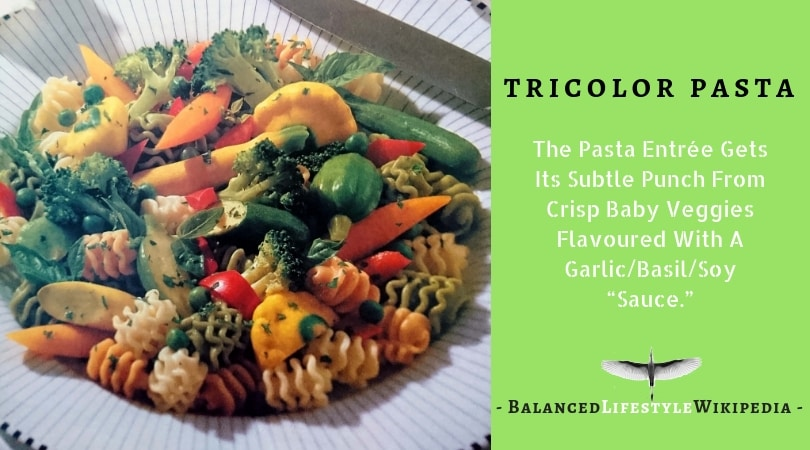 The New Food - Tricolor Pasta