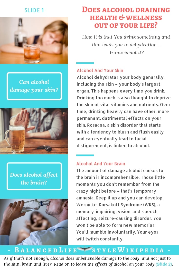 Does alcohol draining health & wellness out of your life?