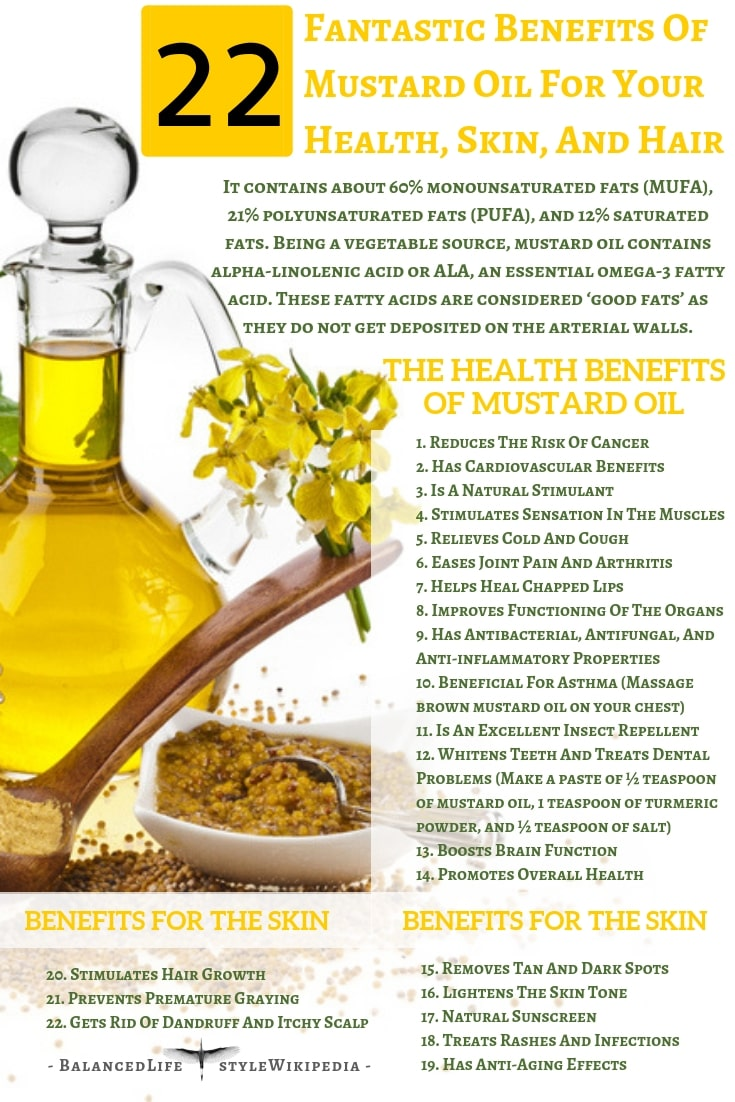 22 Fantastic Benefits Of Musturd Oil For Your Health, Skin, And Hair