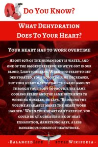 What Dehydration Does To Your Heart?