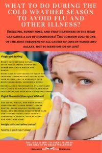 What To Do During The Cold Weather Season To Avoid Flu And Other Illness?