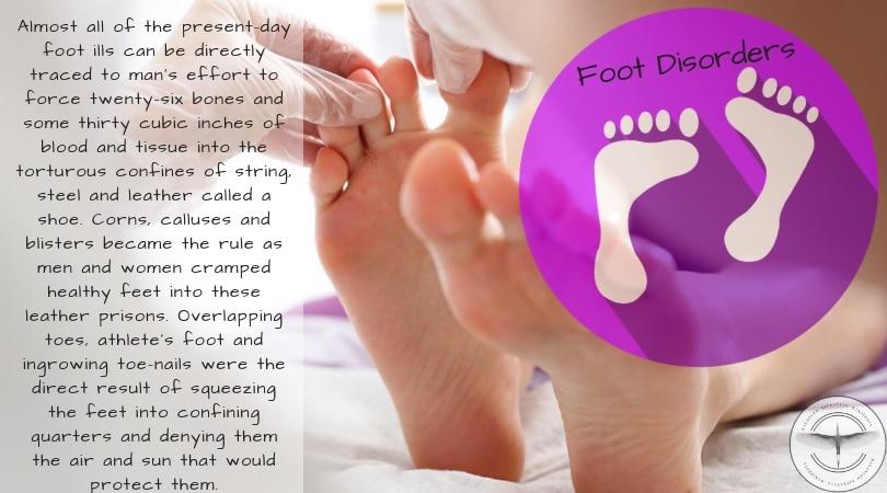 foot disorders