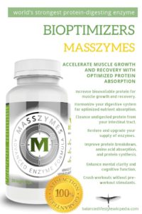Masszymes - World's Strongest Protein-Digesting Enzyme Formula