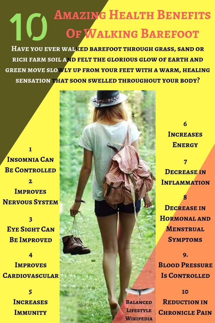 10 Amazing Health Benefits Of Walking Barefoot