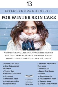 13 Effective Home Remedies For Winter Skin Care