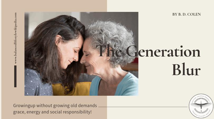 the generation blur
