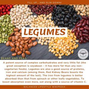 Legumes - Fill up Slim down