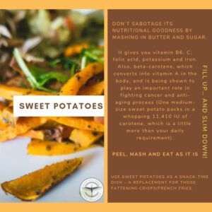 Sweet Potatoes - Weight Loss