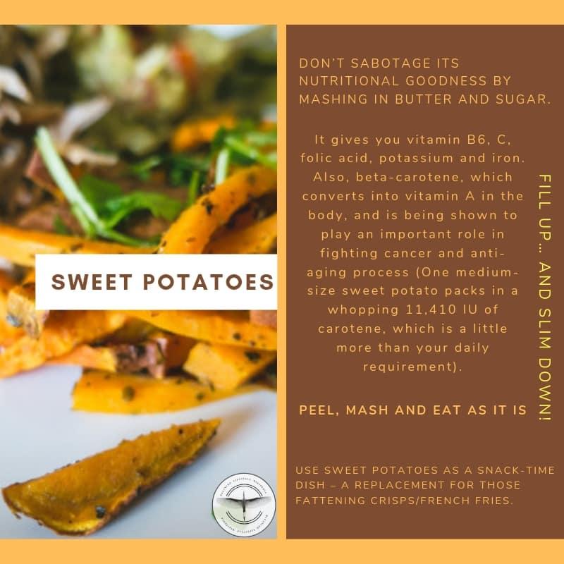 Sweet Potatoes - Weight Loss